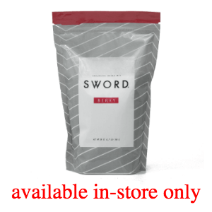 Sword Nutrition Products - Available In-Store Only