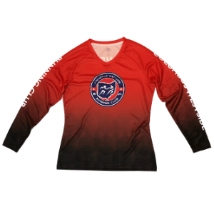 Columbus Westside Running Club Women's LS Tee (SKU: CWRC LS18 W)