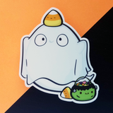 Ghost Ghost Vinyl Sticker