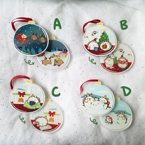 Winter Fun! Acrylic Ornaments