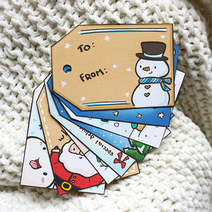 Holiday Potatoes Gift Tag Set - Physical Pack