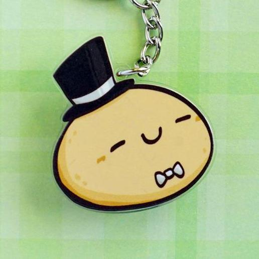 Professional Potato Acrylic Charm