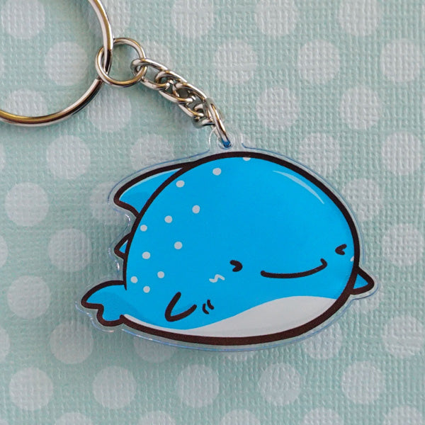 Wally the Whaleshark Acrylic Charm