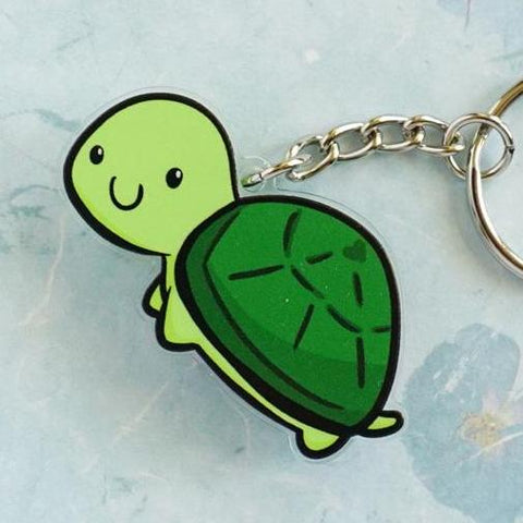 Tuttles the Turtle Acrylic Charm
