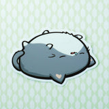 Sleepy Potatocat Vinyl Sticker