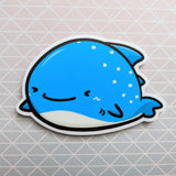 Wally the Whaleshark Vinyl Sticker