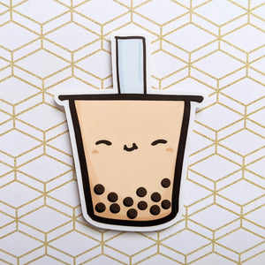 Boba Milk Tea Vinyl Sticker