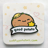 Good Potato Enamel Pin