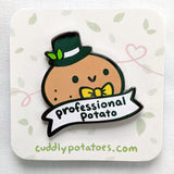 Professional Potato Enamel Pin