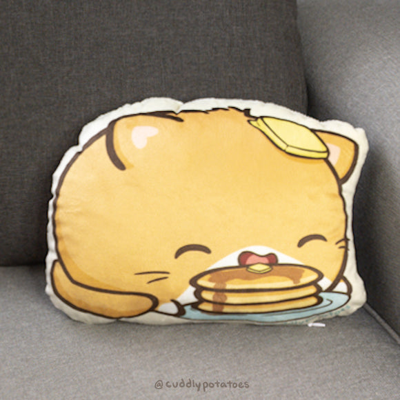 Pancake Potatocat Plush Pillow