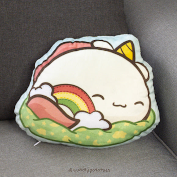 Sleepy Potatocorn Plush Pillow