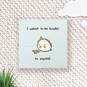 Kinder to Myself - Comic Print