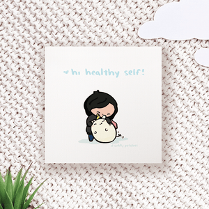 Healthy Self - Comic Print