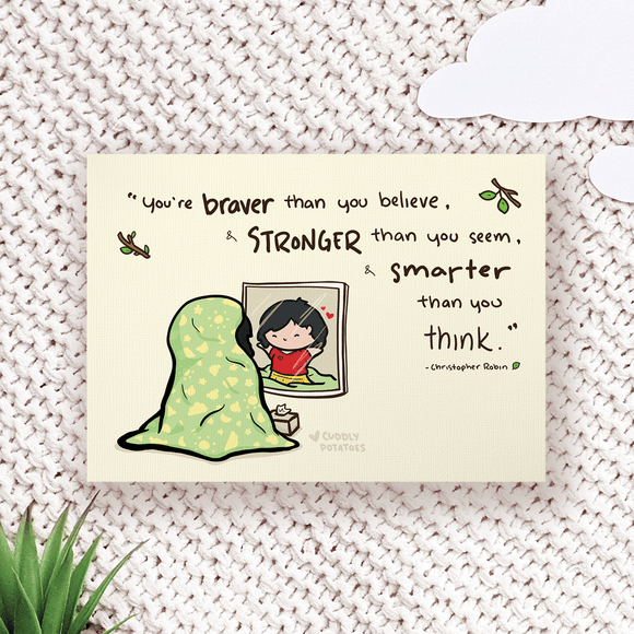 Braver than you Believe - Comic Print