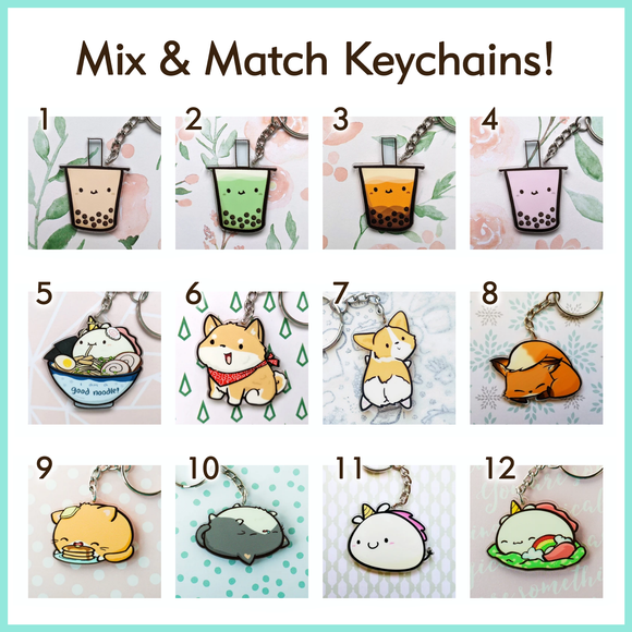 Mix & Match Keychains