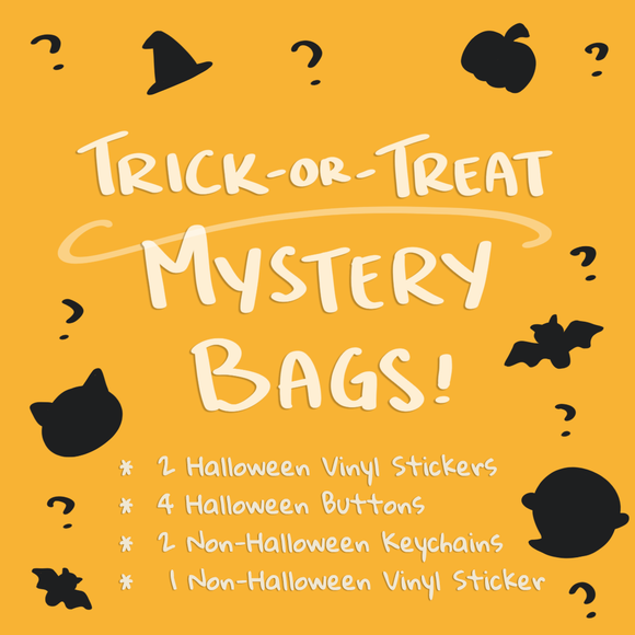 Trick-Or-Treat Halloween Mystery Bag
