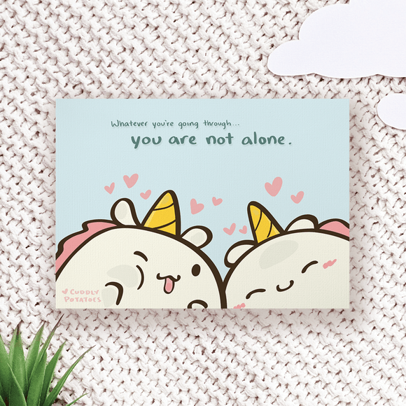 Not Alone - Comic Print