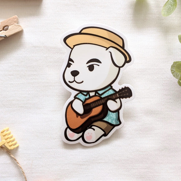 KK Slider Vinyl Sticker