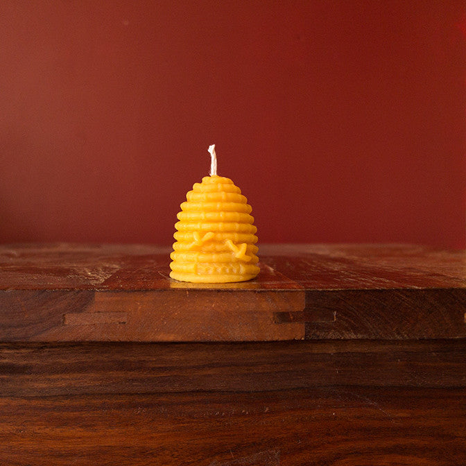 "Large Skep Candle (2.5"" tall)"