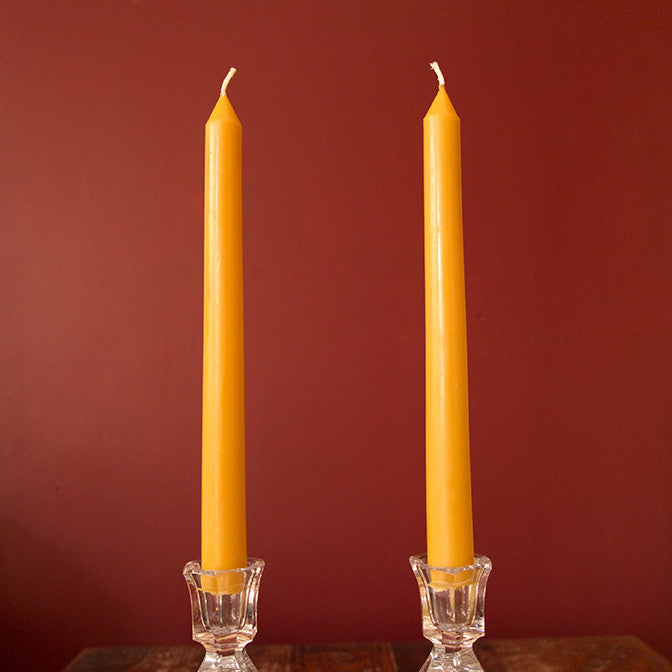 "One Standard Poured Taper Candle - (12"" x ¾"")"