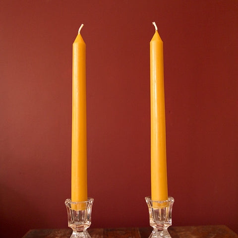 "One Standard Poured Taper Candle - (8"" x ¾"")"