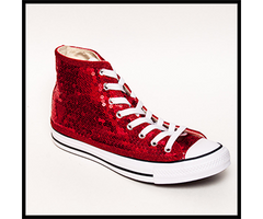 color core wedding shoes, red hi tops sneakers