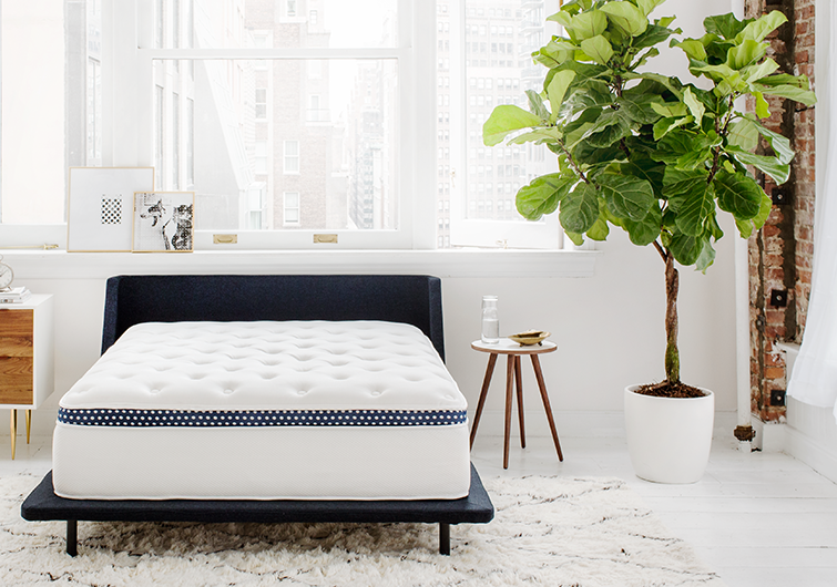 Winkbeds mattress for couples