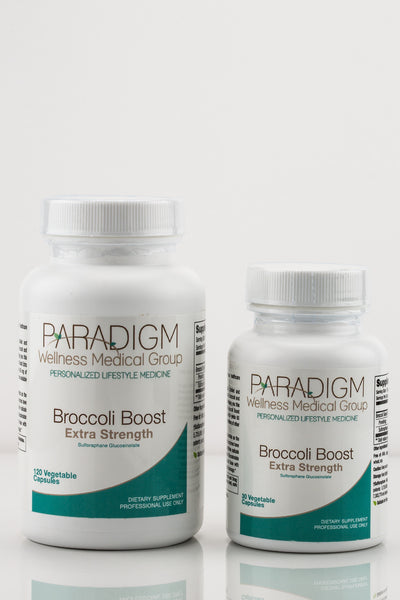 BROCCOLI BOOST, a health supplement from Paradigm Wellness Medical Group