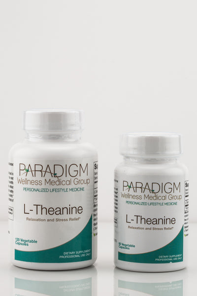 L-THEANINE, a health supplement from Paradigm Wellness Medical Group