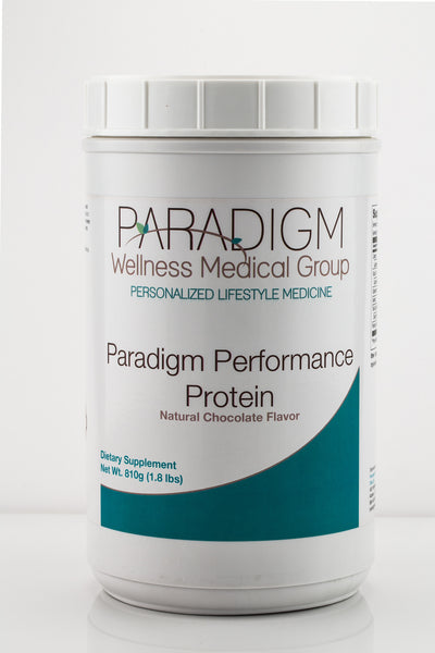 PARADIGM PERFORMANCE PROTEIN (Chocolate), a health supplement from Paradigm Wellness Medical Group