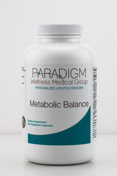 METABOLIC BALANCE, a health supplement from Paradigm Wellness Medical Group