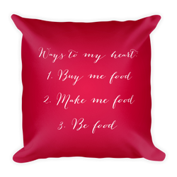 Juicy Talk Pillow Collection - Be Food