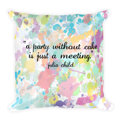 Juicy Talk Pillow Collection - Cake