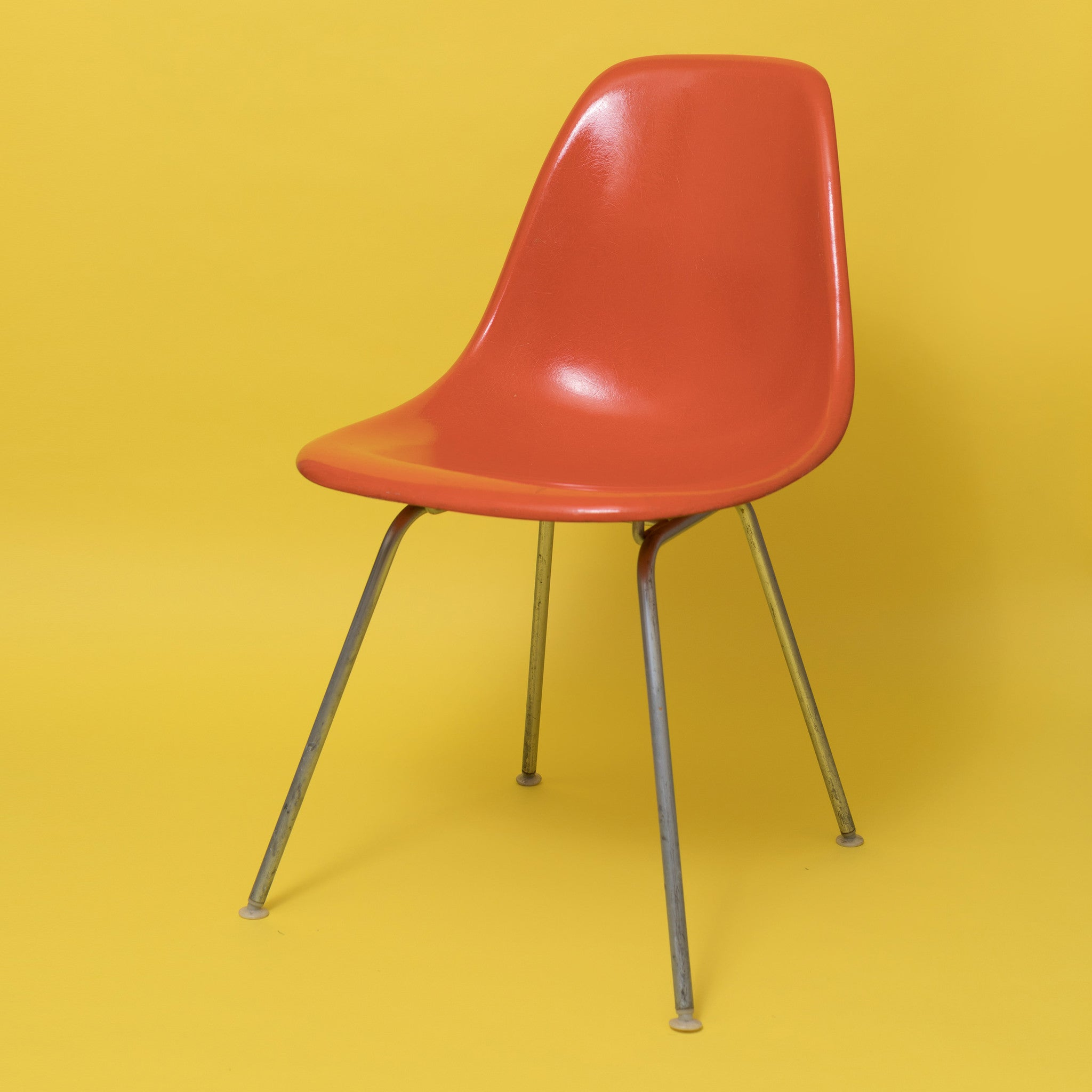 Red Orange Herman Miller DSX Eames Chair ...