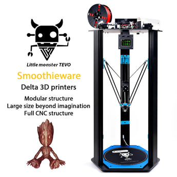 Tevo Little Monster Delta 3D Printer Kit - Tevo USA