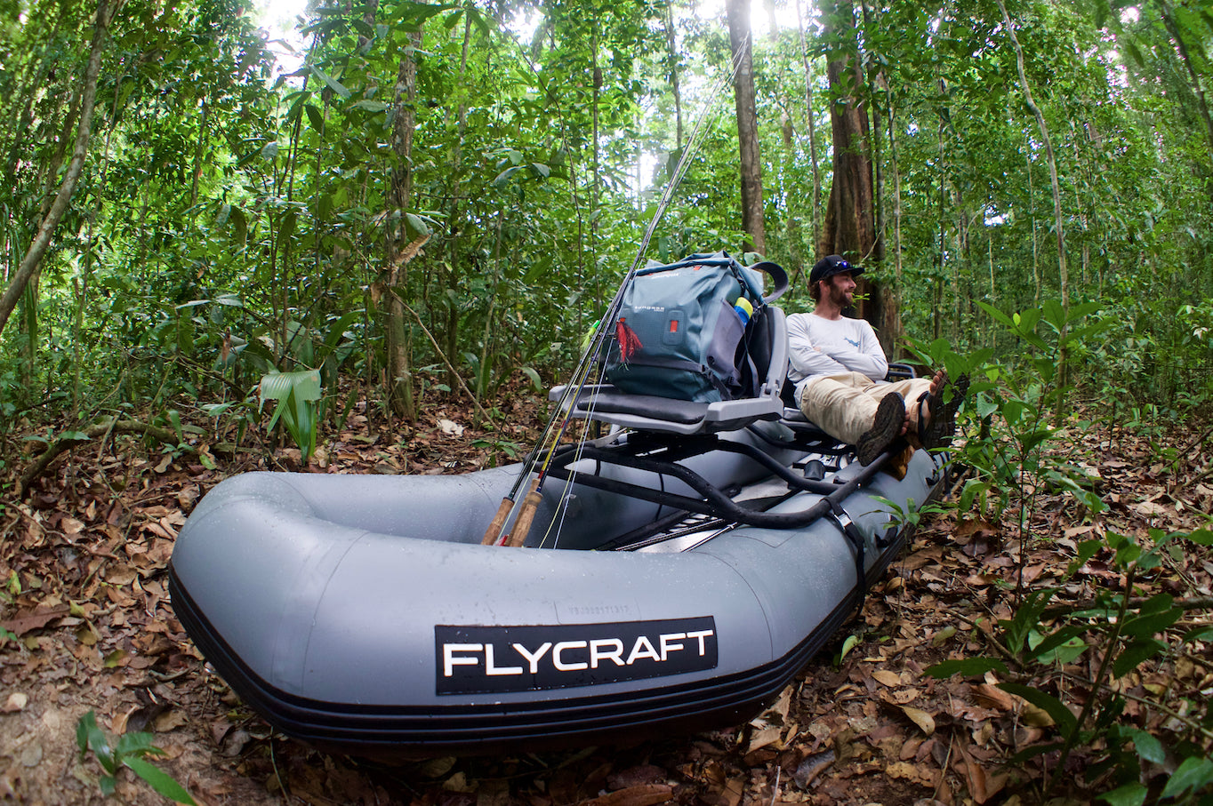 Fly Fishing in the Jungle with Flycraft