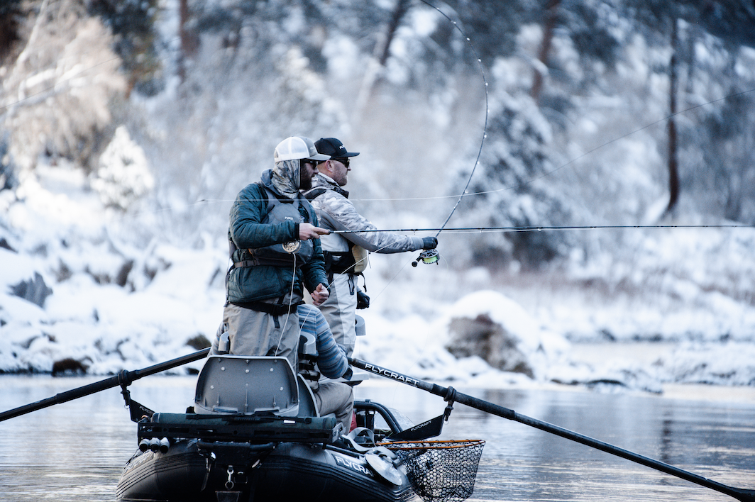 VIDEO (Day 2): Winter Fly Fishing with Legend Lance Egan