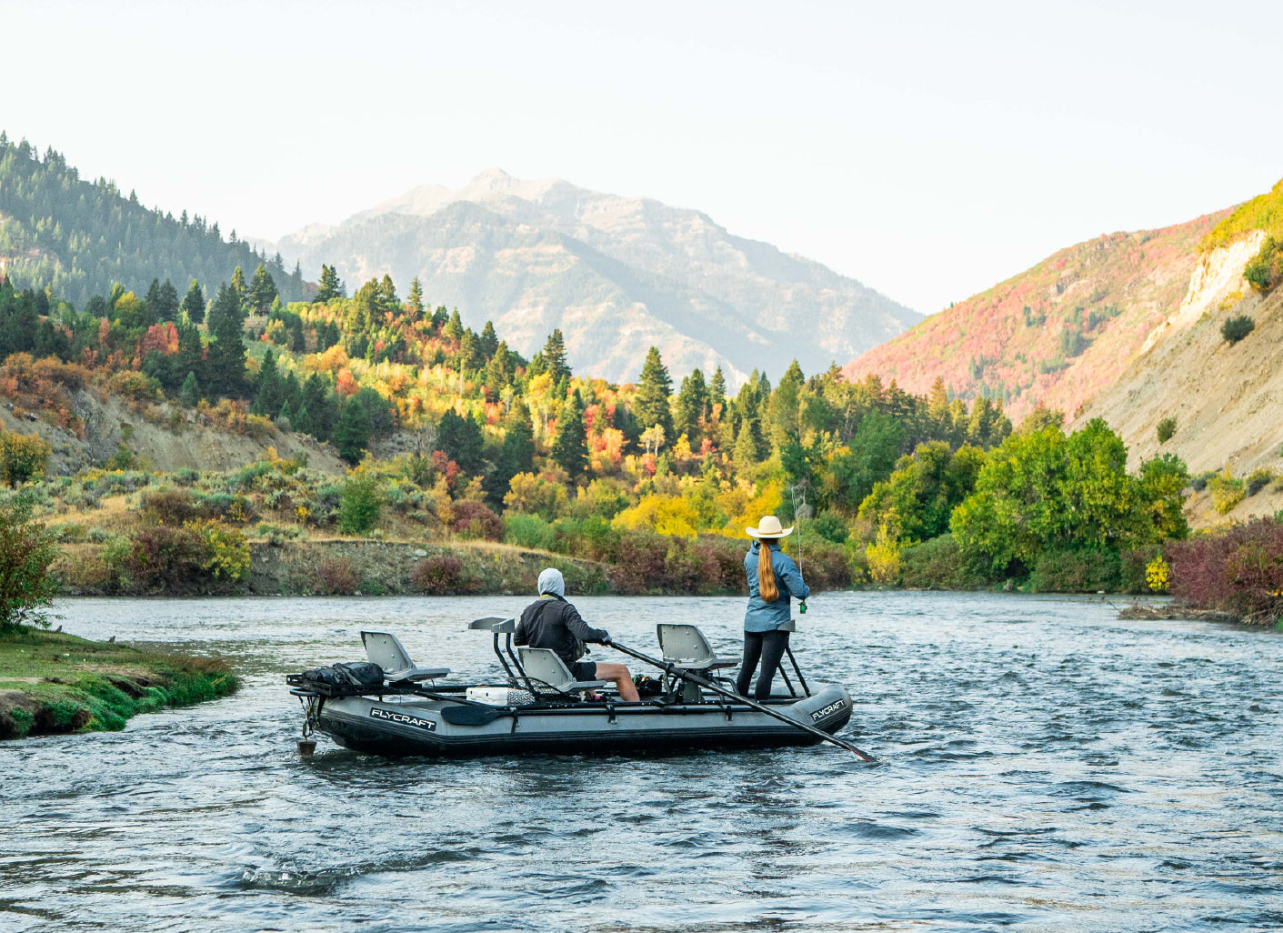 VIDEO: Fall Fishing in a Flycraft Guide