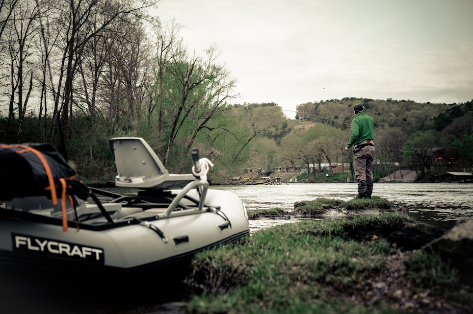 Pack Dump Arkansas | What to bring when fishing the White River in Cotter Arkansas