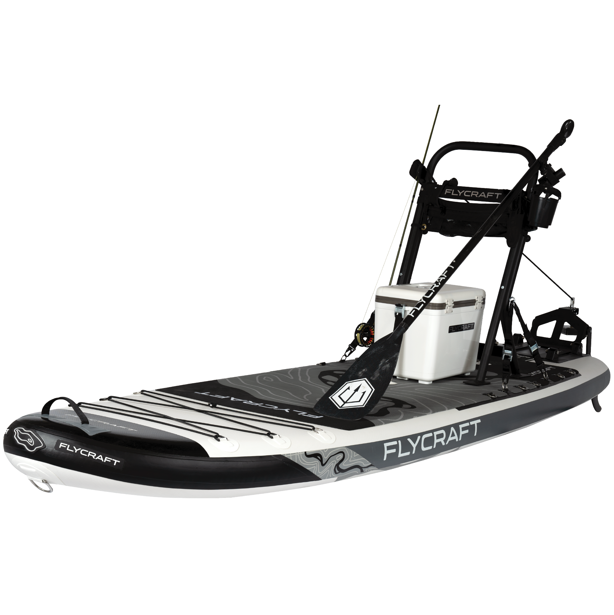 flycraft stand up paddle board sup fishing package flycraft usa