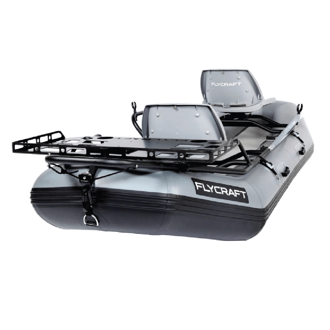 Fly Fishing Boat Gear Rack for Stealth Boat | FLYCRAFT USA