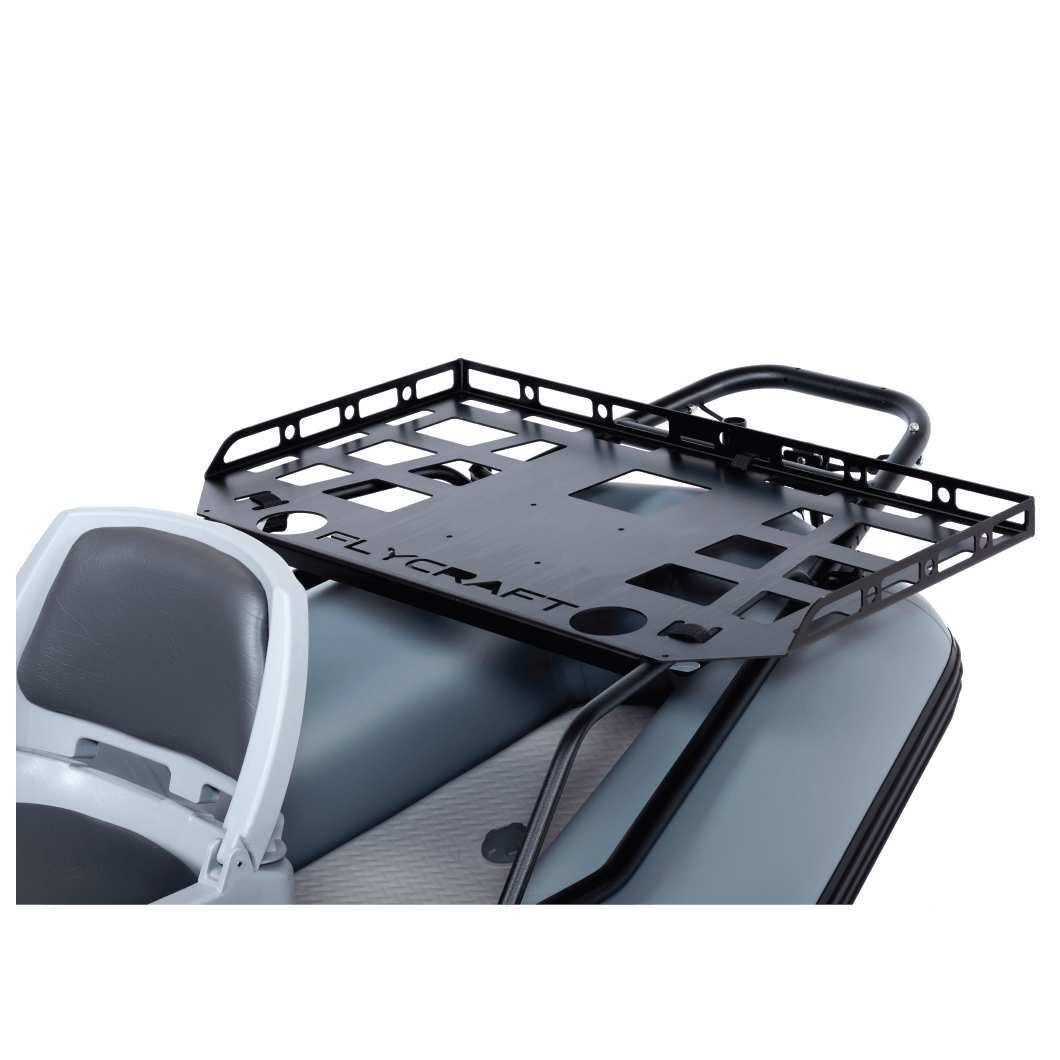 Fly Fishing Boat Gear Rack for Stealth Boat
