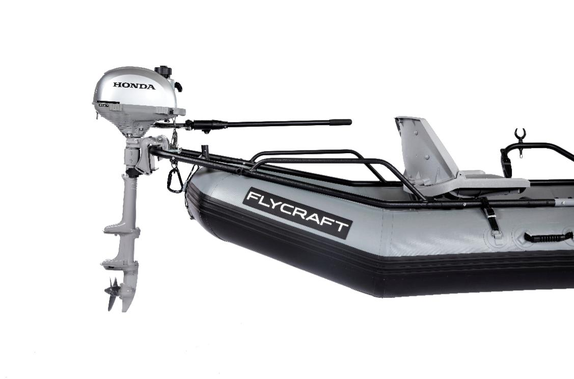 World 39 s most versatile inflatable fishing boat flycraft usa for Inflatable fly fishing boats