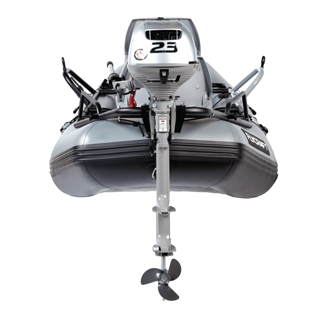 Honda 2.3 HP Small Fishing Boat Motor | FLYCRAFT USA