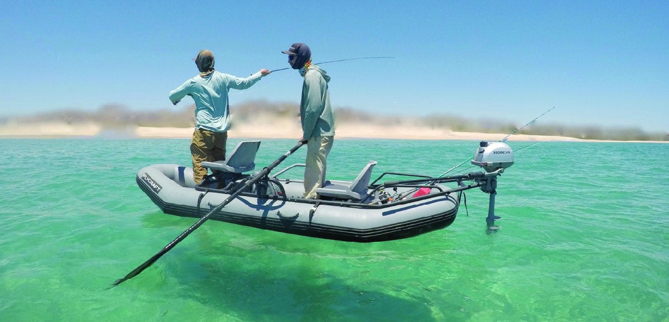 The World's Most Versatile Inflatable Fishing Boat