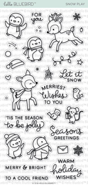 Snow Play Stamp