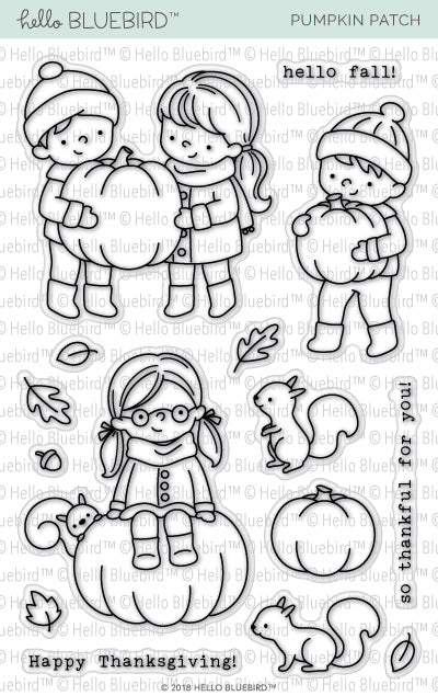 Pumpkin Patch Stamp