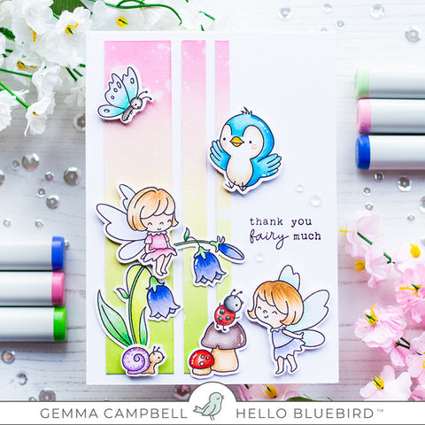 Garden Friends Stamp