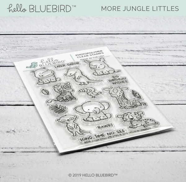More Jungle Littles Stamp