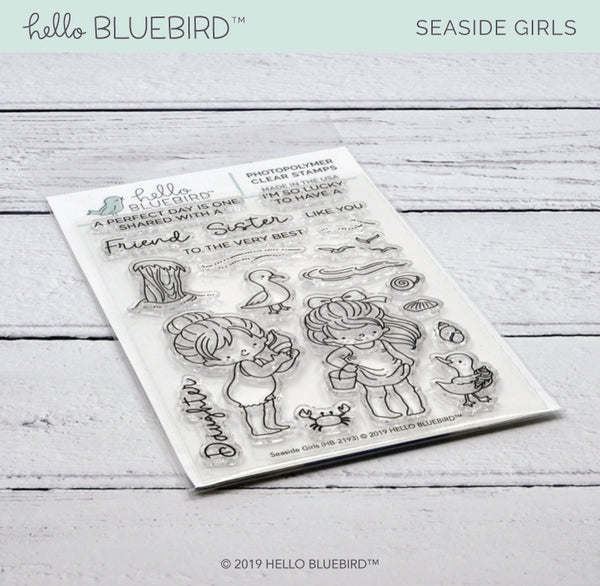Seaside Girls Stamp